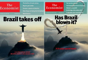 The Economist Brazil covers from 2009 and 2013